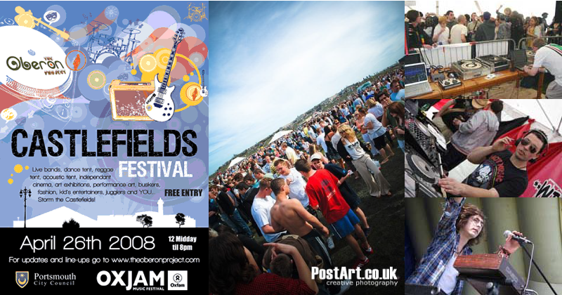 Castlefields free music festival in association with Oxjam