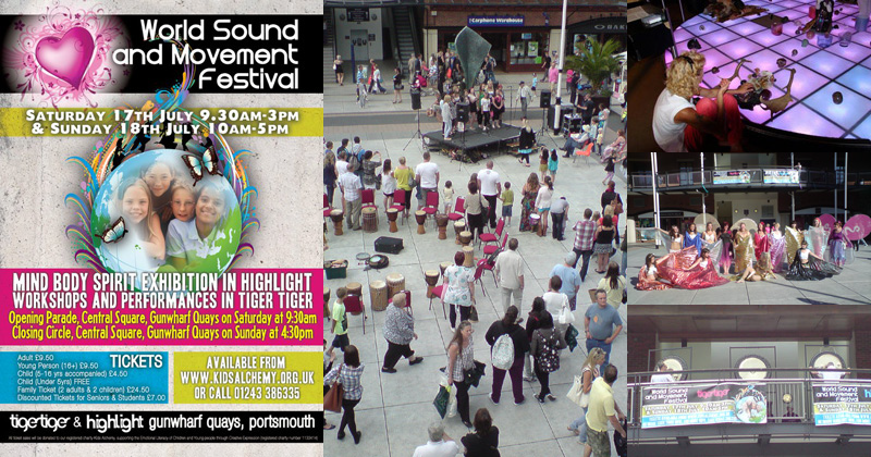World Sound and Movement Festival in association with Kids Alchemy